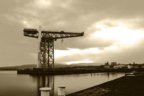 TITAN crane terbesar di Dunia (Hitlers Idea)