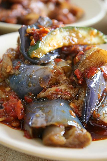 Sambal brinjals/eggplant