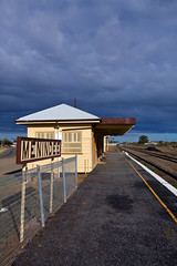 Menindee Station (norbography) Tags: sky station clouds railway vote menindee toddnorbury