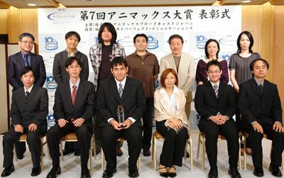 080913(2) - 『2008年第7回ANIMAX動畫大獎』得獎名單正式揭曉,由Production I.G為大賞劇本製播動畫版,並且在2009年首播
