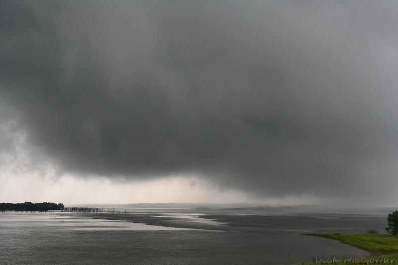 Hillsdale Lake Wall cloud