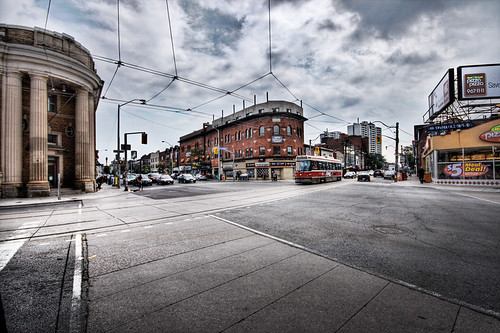 Broadview and Danforth by Smedlipotski.