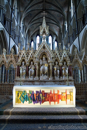 Altar of Worcester Cathedral