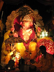 Ganpati (Primus D'Mello) Tags: people music india festival canon fun lights is dance god religion ganesh mumbai hindu s3 visarjan primus ganpati lalbaug dmello primusdmello