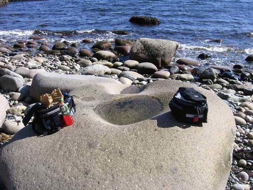 Fingerbowl rock