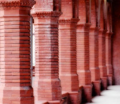 brick pilars