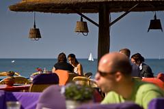 At the beach end of september-6134 (Arie van Tilborg) Tags: strand scheveningen denhaag terras borabora tomotterness beeldenaanzee sprookjes sgravenhage sprookjesbeeldenaanzee tilborg arievantilborg tlbdemonnl avantilborg avtilborg