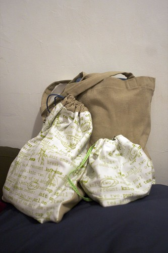 Knitting bags from Illanna