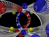 Mobius roller coaster (fdecomite) Tags: color sphere strip math mobius povray
