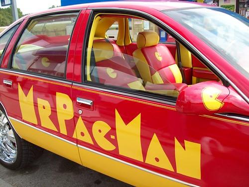 El súper carro Pac-Man