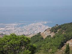 Trapani da Erice (GISELLINA) Tags: italy panorama italia viaggio vacanza sicilia erice trapani