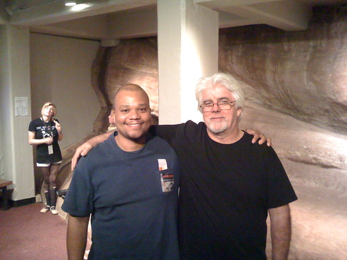 Backstage with Michael McDonald at Red Rocks, September 23, 2008