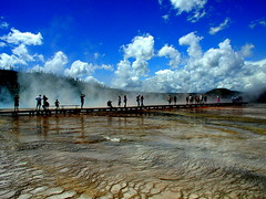 Grand Prismatic Hot Springs, Yellowstone N.P.
