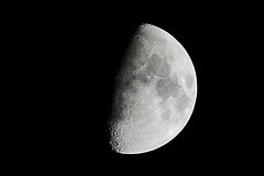 'sta butterata demm- ah no è la luna