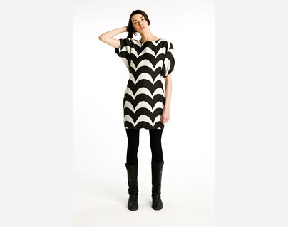 marimekko stripe dress