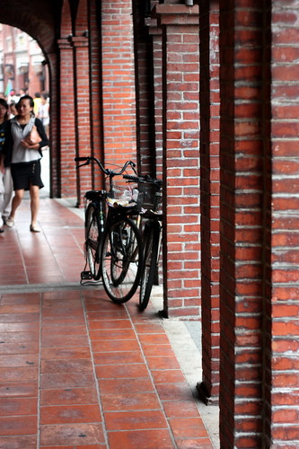 Bicycle parking, Sanxia old street