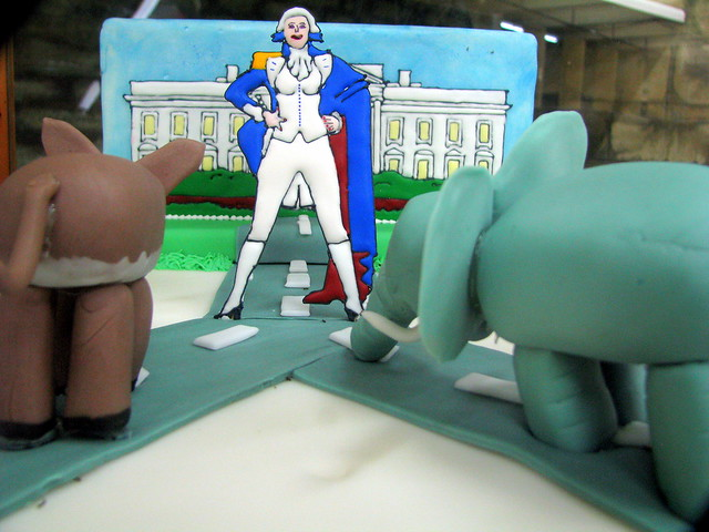 100 Things to see at the fair #38: Political Cake Design