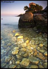 Newport's vision II (otrocalpe) Tags: sea tower water mare stones ancona portonovo regionemarche otrocalpe