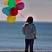 Laney w/balloons