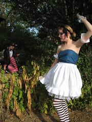 Cheshire in the trees (RobinGirl) Tags: cheshirecat alicewonderland