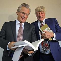 El juez Garzón y Geoffrey Robertson