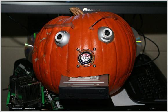 Computer pumpkin