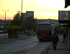 Veliko Tarnovo bus station (damiancorrigan) Tags: travel sunset urban bus nikon europa europe streetphotography bulgaria balkans busstation highiso urbanphotography velikotarnovo d60 travelphotography europeantravel nikond60