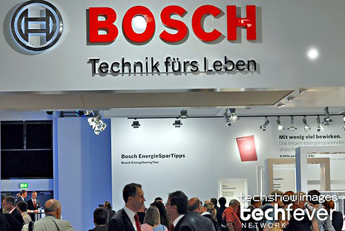 Bosch booth at IFA Berlin 2008, Consumer Electronics Show by TechShowNetwork.