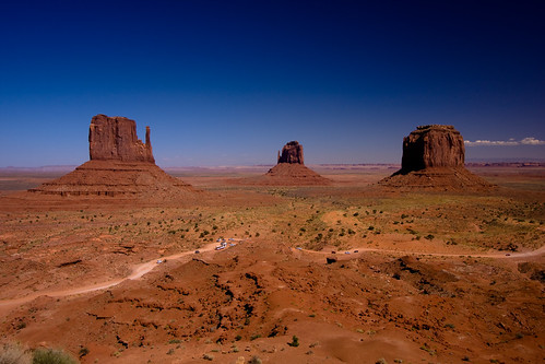 Monument Valley.... di zilverbat (