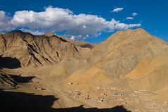 View to the desert mountain landscape that surrounds Leh (ScottLarsen) Tags: travel sky panorama india mountains clouds landscape asia view desert south places best kashmir peaks himalaya leh ladakh select highaltitude jammukashmir