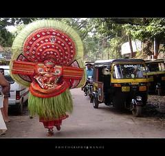 God's own road! (My Trip Guide) Tags: auto people kerala roadshow keralam malabar theyyam kannur kasargode aswathi233 mtv233 theyyamfestival