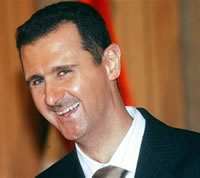 bashar al assad speech damascus university laughing_s