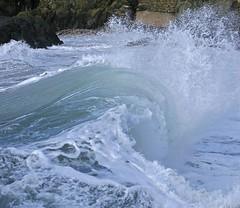 fenella beach (ronstrathdee) Tags: waves peel isleofman wavesbreaking