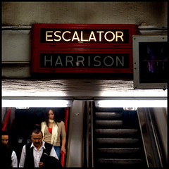 Harrison (Andy Marfia) Tags: chicago 50mm cta harrison iso400 el f22 escalators redline squarecrop allrightsreserved d90 1800sec andymarfia