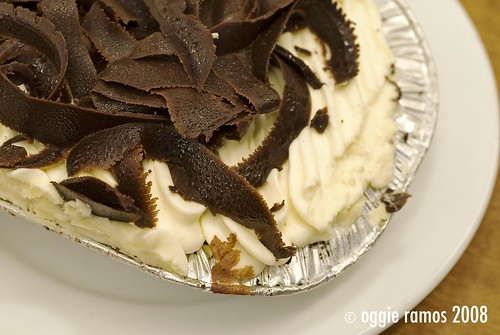 M&Ts Baked Oreo Cheescake (Php 135)