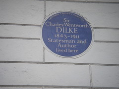 Photo of Charles Wentworth Dilke blue plaque