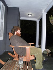 james on the porch. (stephiblu) Tags: november autumn party guests fun nj montclair 2008 autumnball autumnball2008 tichenortichenors