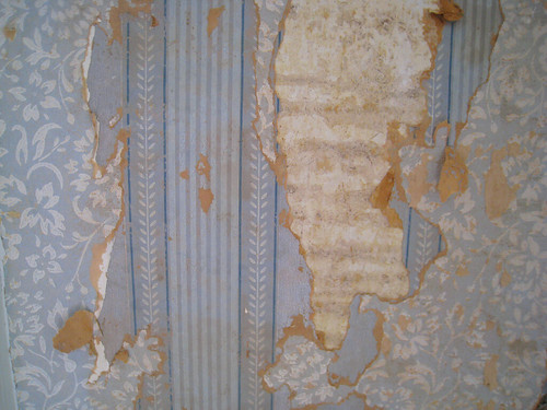 Two Layers of Wallpaper