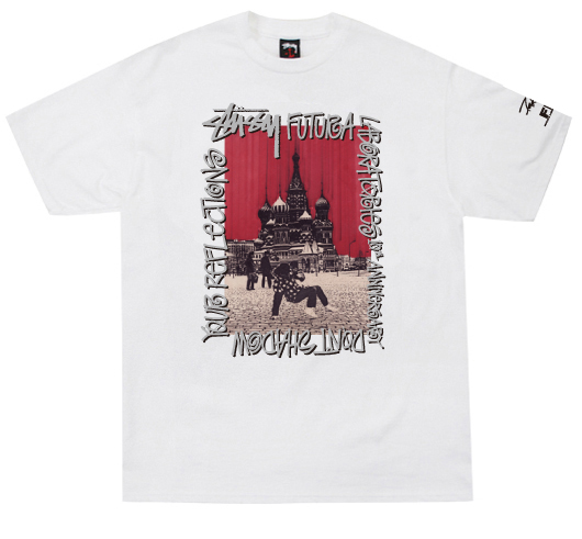 Stussy x FL Red Square Tee
