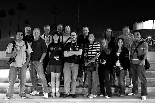 San Pedro Flickr Meet Group Portrait