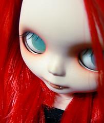 IV. Mekare. (Nuria von Schlotterstein) Tags: moon mushroom girl dead carved doll candy little vampire cosina von carving lips fangs milky plain vampiro takara vamp vampira sbl mery pcm precocious colmillos dolland mekare schlotterstein