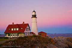 The Most Photogenic Lighthouse in America (Michael Pancier Photography) Tags: autumn sunset usa lighthouse portland maine fineartphotography naturephotography seor naturephotographer floridaphotographer michaelpancier michaelpancierphotography artofimages poirtlandheadlight bestcapturesaoi wwwmichaelpancierphotographycom seorcohiba