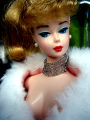 Cleavage Barbie (T.L.A.) Tags: fashion vintage toys doll barbie objects things collectables doodads trinkets