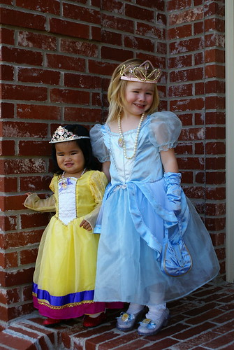 Sweet little princesses