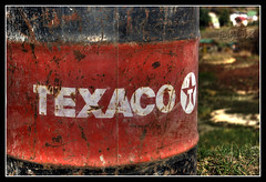 Texaco (Delox - Martin Dek) Tags: old light nature photoshop manipulated polaroid iso100 europe pentax tripod f56 texaco amateur hdr slovakrepublic multiexposure photomatix barel da1855 5xp k10d pentaxk10d volour delox