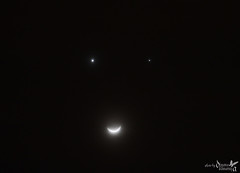 Nature | Smiling Moon (Diyana Kamaruza) Tags: moon nature smiling canon 1 december venus planet astronomy jupiter 2008 lunar mata senyum bintang bulan occultation diyana fenomena 450d kamaruzaman zuhrah cakerawala diyanakamaruza kamaruza musytari