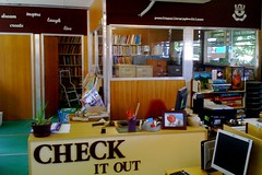 Desk end of library - final