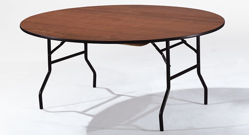 Plywood folding table