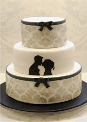 Silhouette (Bettys Sugar Dreams) Tags: silhouette weddingcake hamburg hochzeitstorte torte torten scherenschnitt hochzeitstorten motivtorten motivtorte bettyssugardreams sugardreamsde bettinaschliephakeburchardt