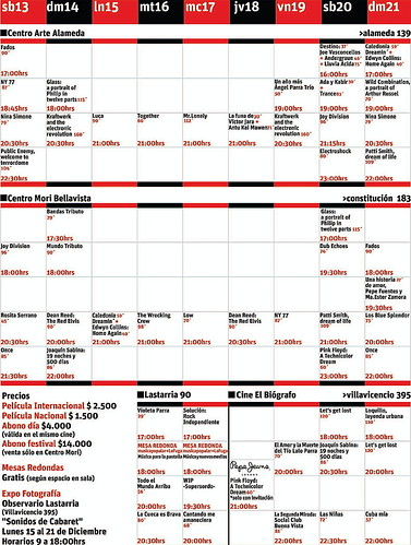 Cartelera in-edit 2008, Haz click sobre la imagen para agrandar